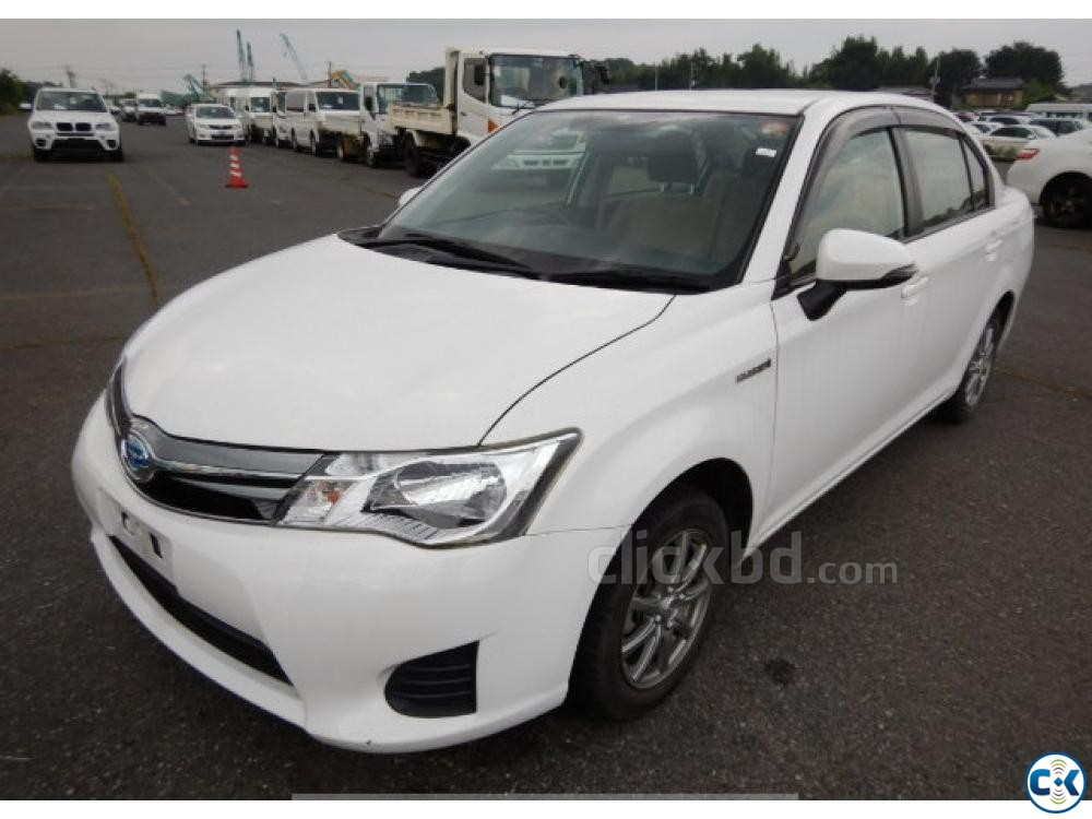 Toyota Axio Hybrid White 2014 | ClickBD large image 0