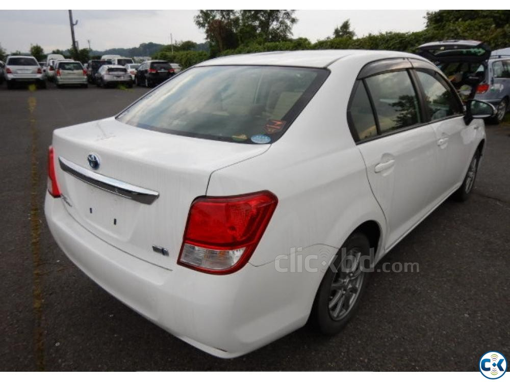 Toyota Axio Hybrid White 2014 | ClickBD large image 4