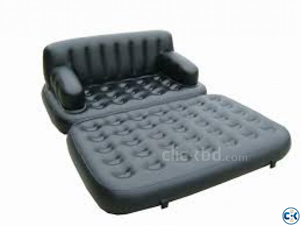 5 in 1 Air Bed Sofa Cum Bed New Version | ClickBD large image 4