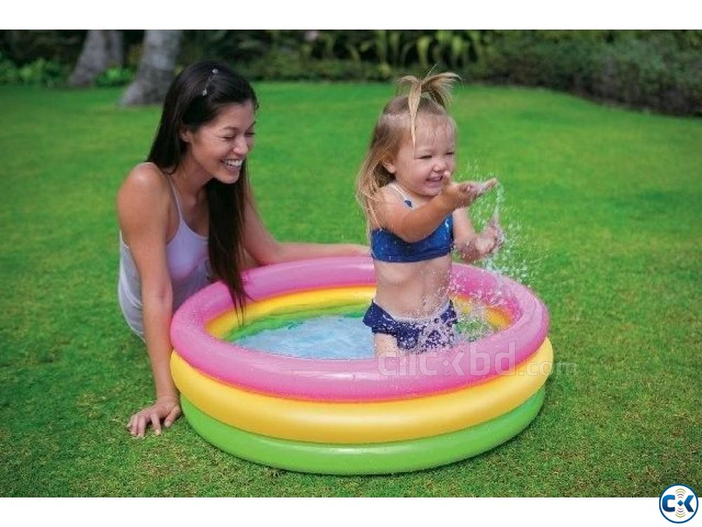 intex Baby Air Pool | ClickBD large image 0