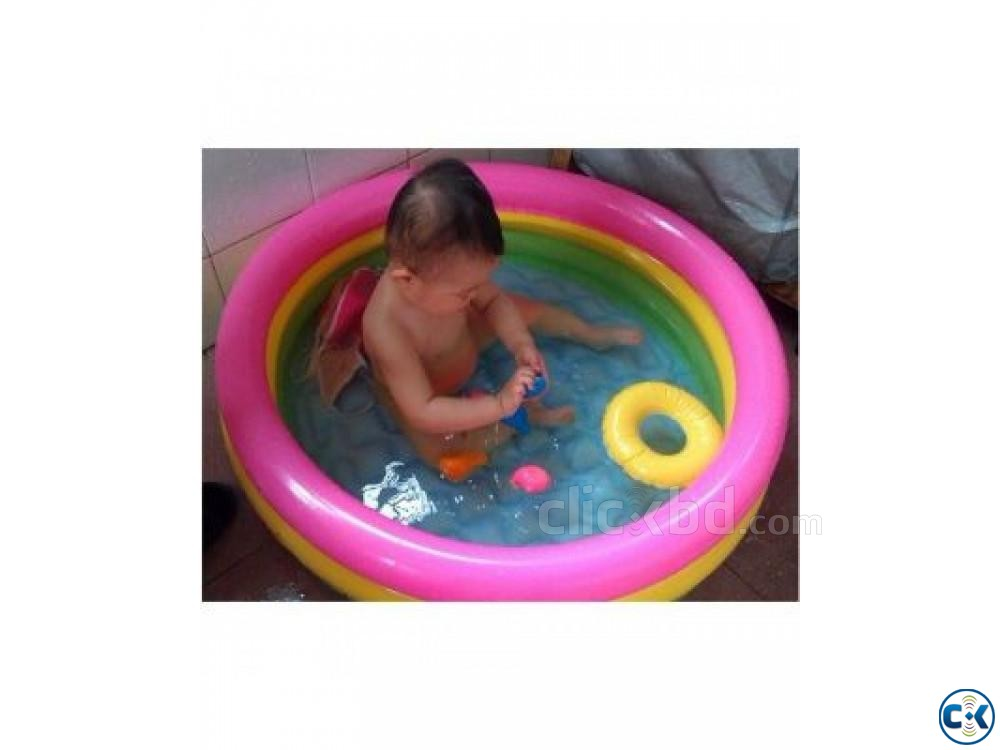 intex Baby Air Pool | ClickBD large image 2