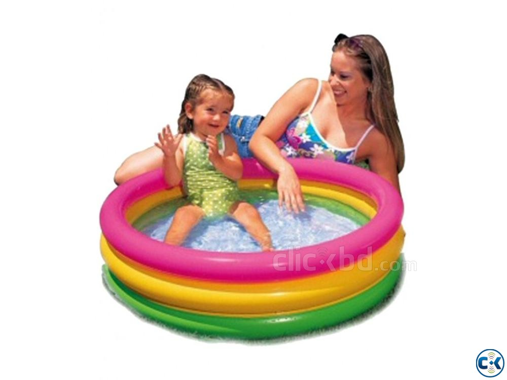 intex Baby Air Pool | ClickBD large image 3