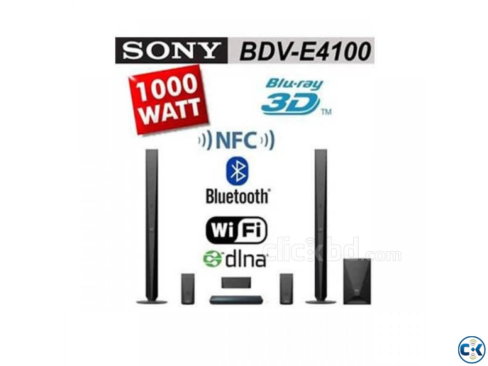 Sony BDV-E4100 5.1-ch 3D Blu-ray home theatre system | ClickBD large image 1