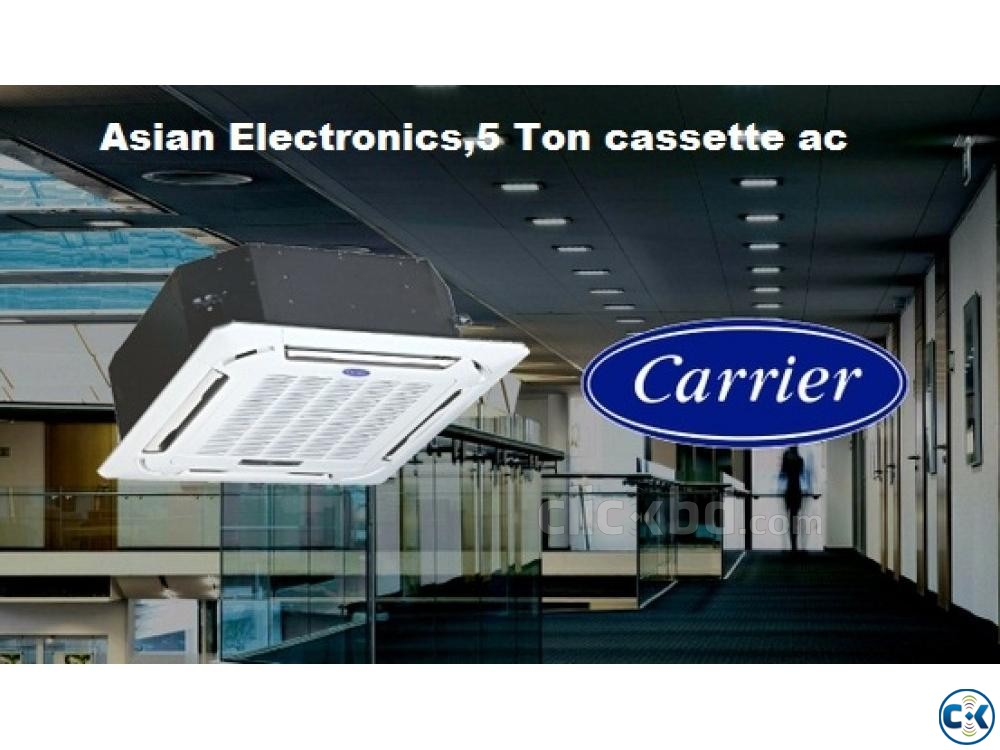 Carrier 3.0 Ton Cassette Type AC Price In Bangladesh | ClickBD large image 2