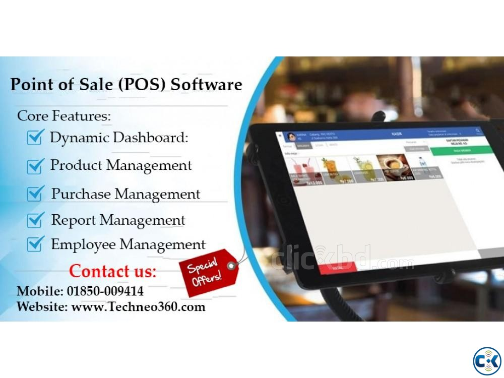 Point of Sale POS Software in Bangladesh | ClickBD large image 0