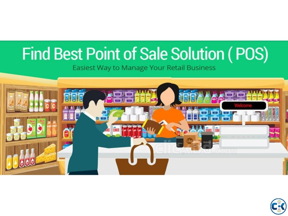 Point of Sale POS Software in Bangladesh | ClickBD large image 1