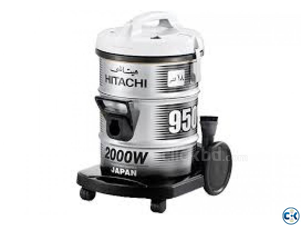 Hitachi Pail Can Type Vacuum Cleaner CV-950Y - 18.0L - Wine | ClickBD large image 0