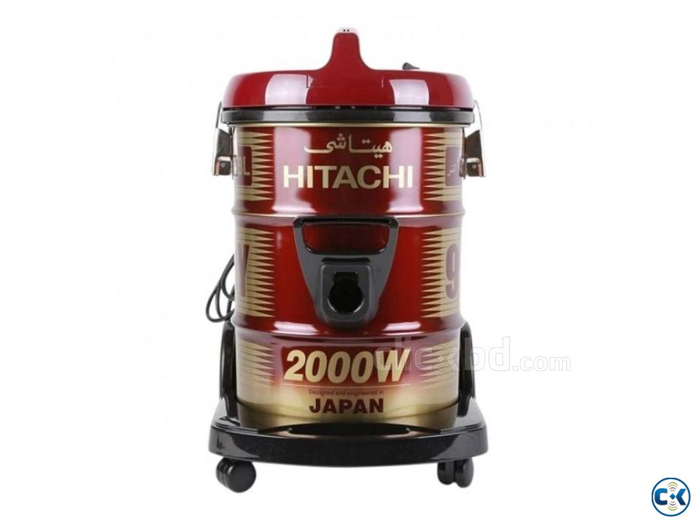 Hitachi Pail Can Type Vacuum Cleaner CV-950Y - 18.0L - Wine | ClickBD large image 1