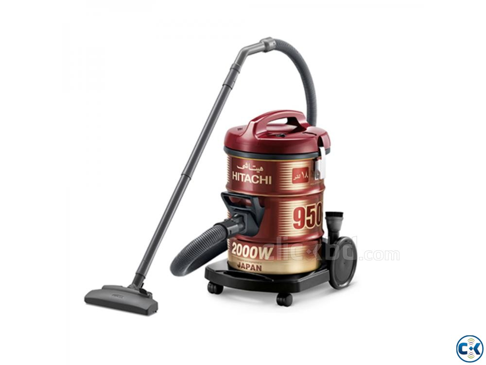 Hitachi Pail Can Type Vacuum Cleaner CV-950Y - 18.0L - Wine | ClickBD large image 3