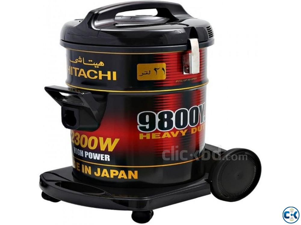 Hitachi Vacuum Cleaner 2300 Watts 21 Liter Drum CV9800Y | ClickBD large image 1