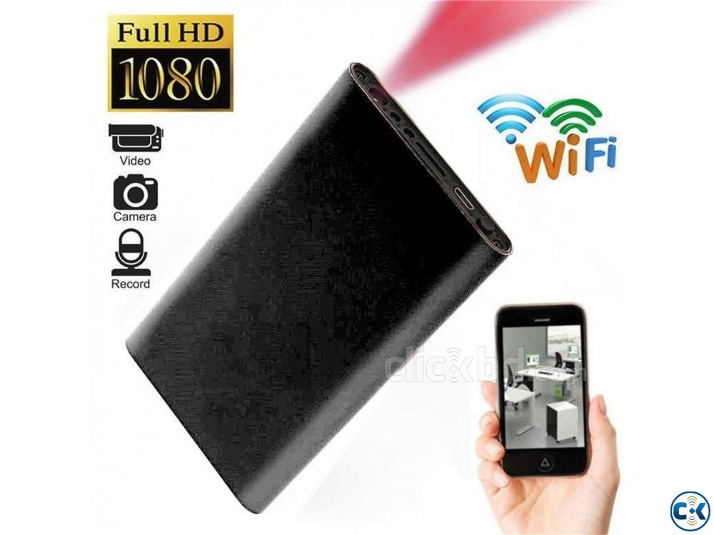 Spy powerbank H8 wifi full hd 1080p | ClickBD large image 0