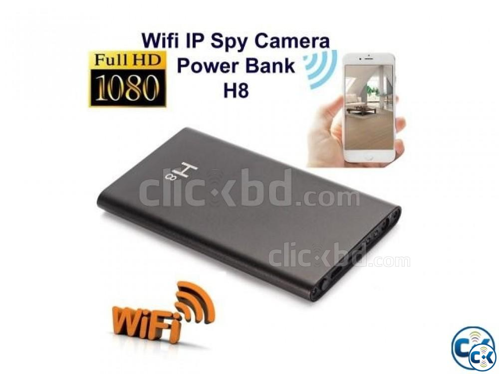 Spy powerbank H8 wifi full hd 1080p | ClickBD large image 4