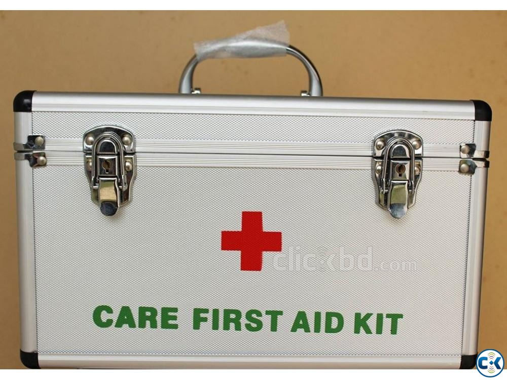 First Aid Box Care First Aid Kit Box with Double Lock | ClickBD large image 0