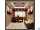 Open office Floor Interior And Decoration-UD.0011