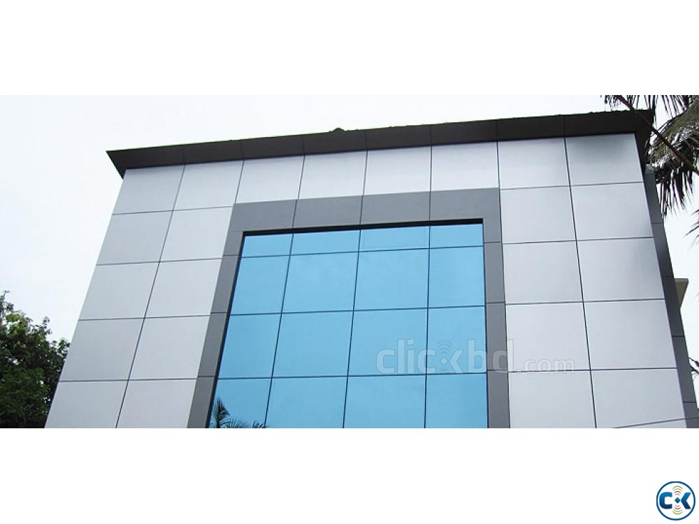 ACP Setup Glass setup at your building or industry | ClickBD large image 1