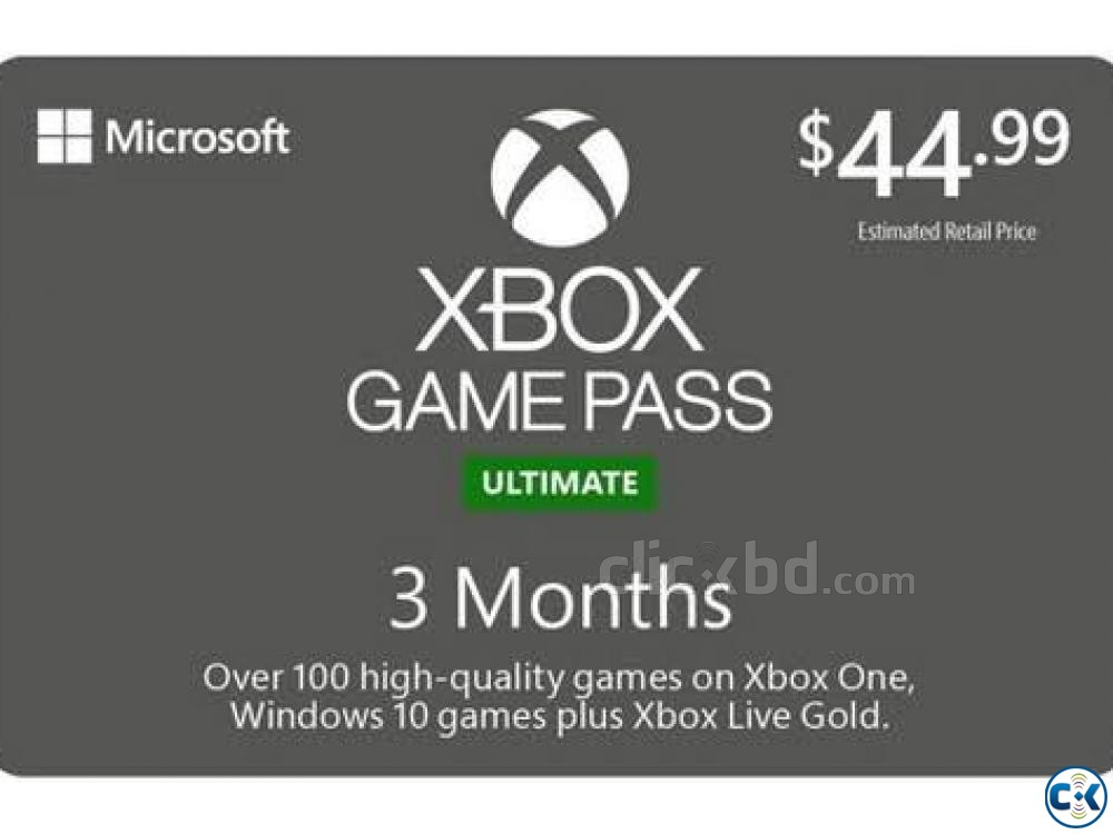 XBOX GAME PASS ULTIMATE 3 MONTH | ClickBD large image 0