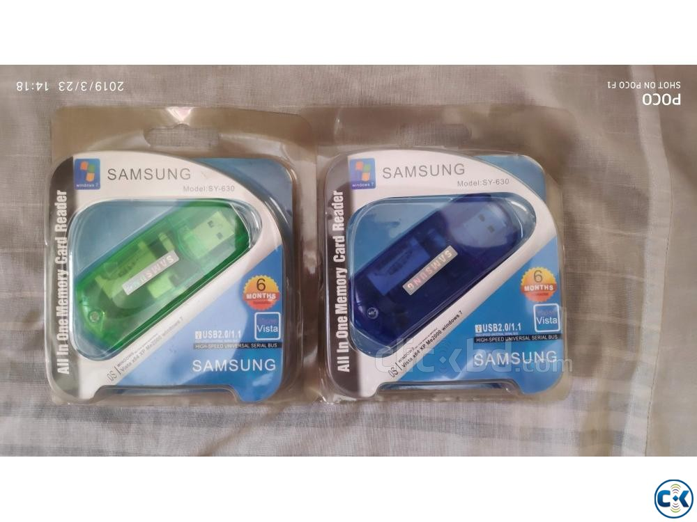 Memory Card Reader New  | ClickBD large image 0
