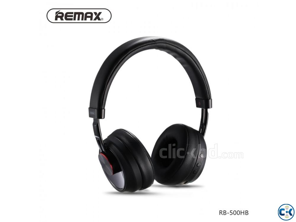 Remax 500HB Wireless Bluetooth Headphone | ClickBD large image 0