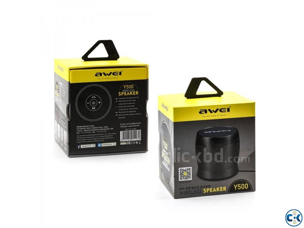 Awei Y500 Wireless Bluetooth Speaker | ClickBD large image 0