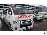 TOYOTA AMBULANCE GL PACK D.A C WHITE 2014