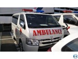 TOYOTA AMBULANCE SUPER GL 2014