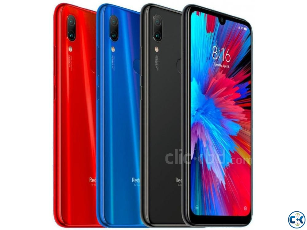 Xiaomi Note 7 Pro Nebula Red 64 GB 4 GB RAM  | ClickBD large image 3