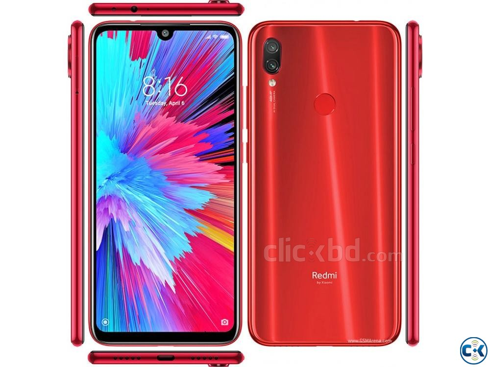 Xiaomi Note 7 Pro Nebula Red 64 GB 4 GB RAM  | ClickBD large image 4