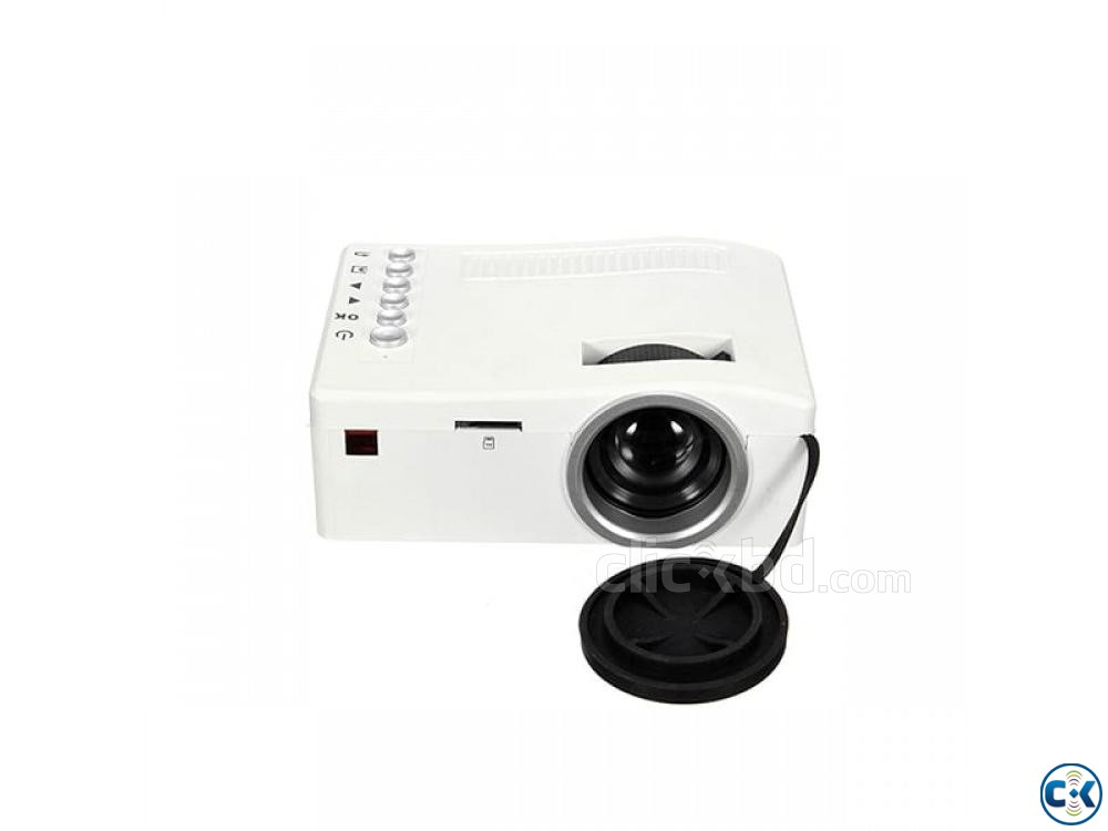 UC18 Cheapest Projector Mini Projector Portable Projector | ClickBD large image 0