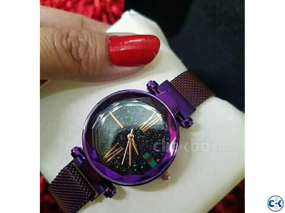 Brand New Exclusive Ladies Magnet watch | ClickBD large image 0