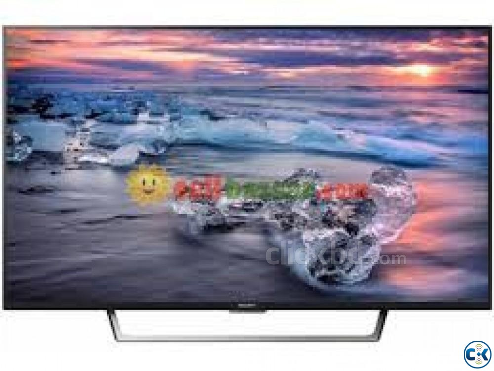 Sony 40 W65 D Full Hd Internet Tv Brand New | ClickBD large image 1