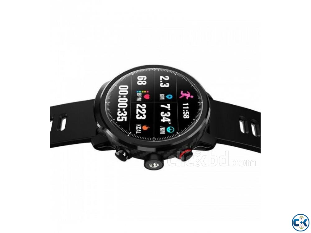 Microwear L5 Smartwatch Water-proof Heart Rate BP | ClickBD large image 1