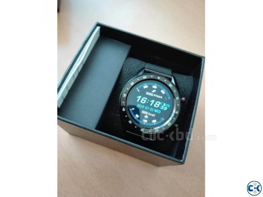 Microwear L7 Smartwatch Waterproof Heart Rate Monitoring | ClickBD large image 2