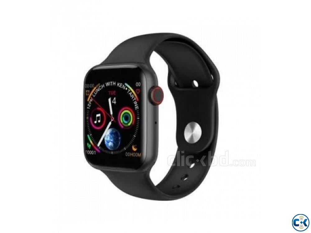 Microwear W34 Smartwatch 44mm Look Apple Watch 4 Bluetooth | ClickBD large image 0