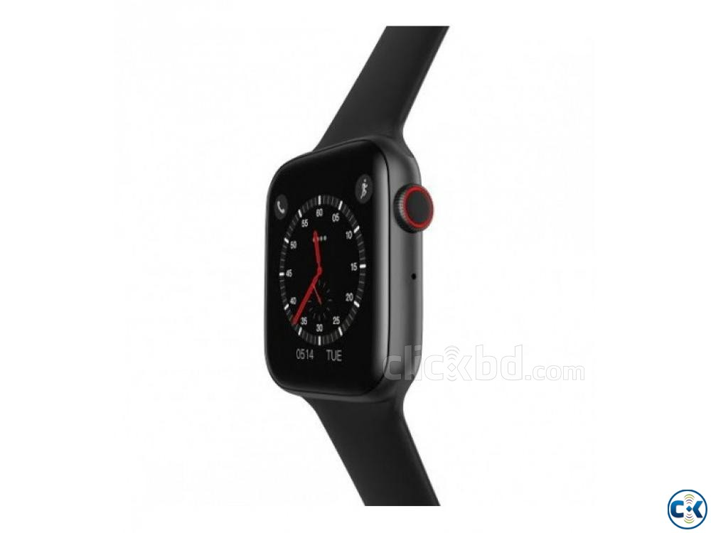 Microwear W34 Smartwatch 44mm Look Apple Watch 4 Bluetooth | ClickBD large image 1