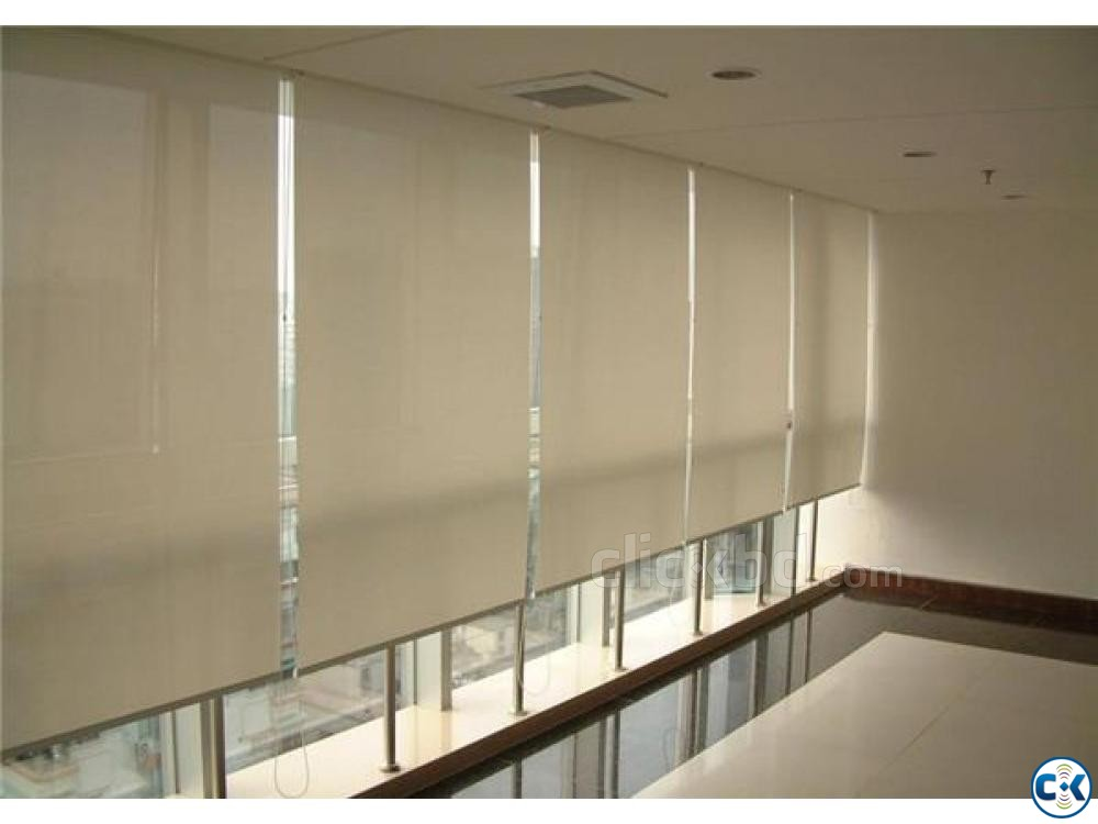 Roller blinds Sunscreen Exclusive Curtain Parda Price in bd | ClickBD large image 0