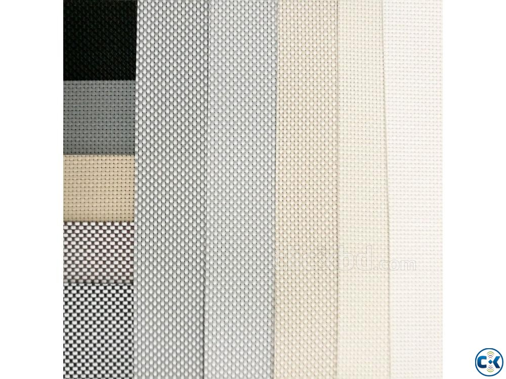 Roller blinds Sunscreen Exclusive Curtain Parda Price in bd | ClickBD large image 2