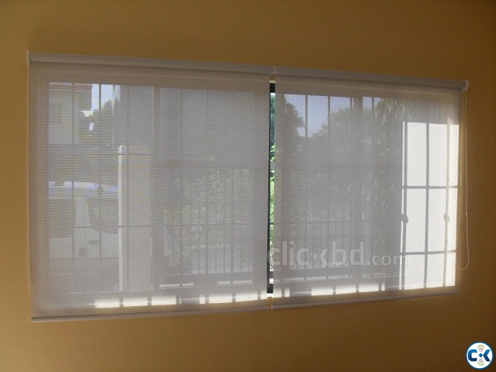 Roller blinds Sunscreen Exclusive Curtain Parda Price in bd | ClickBD large image 3