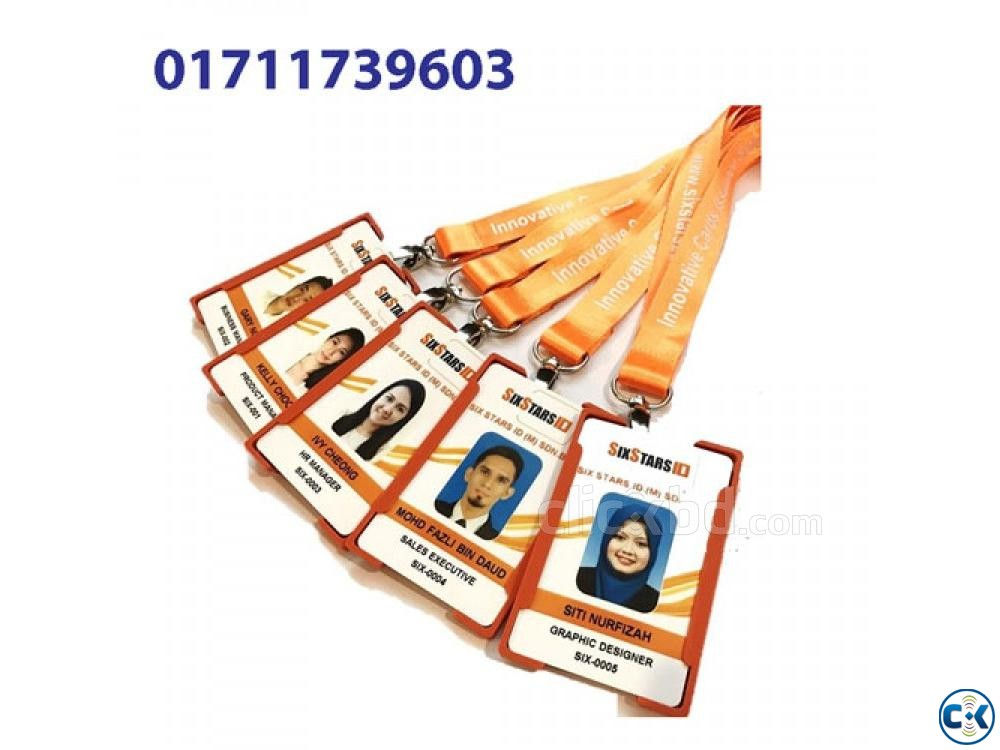 Office School RFID Card Printing Service in Bangladesh | ClickBD large image 0