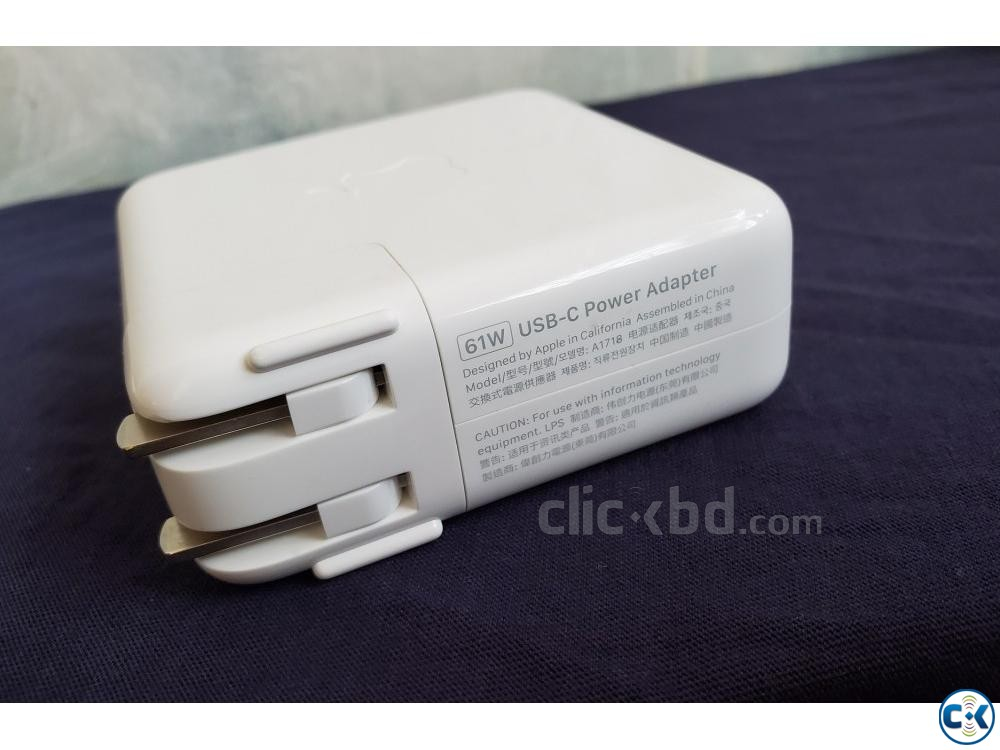 Apple 61W USB C Power Adapter | ClickBD large image 0