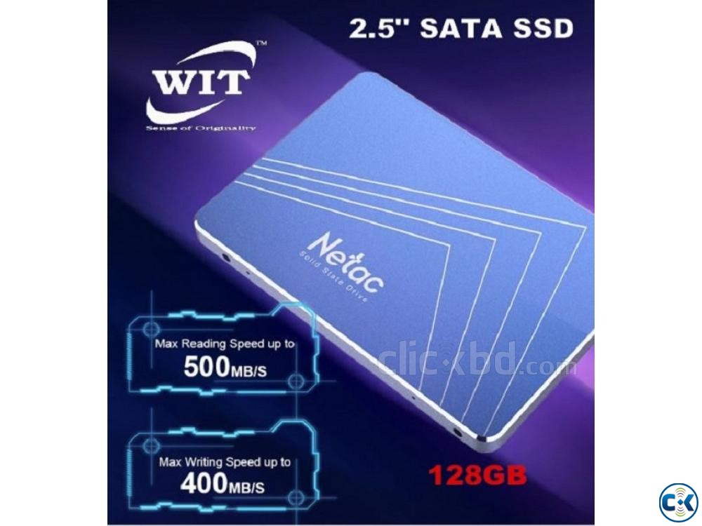 128GB SATA III 6Gb s 2.5 inch 3D TLC Solid State Drive SSD  | ClickBD large image 0