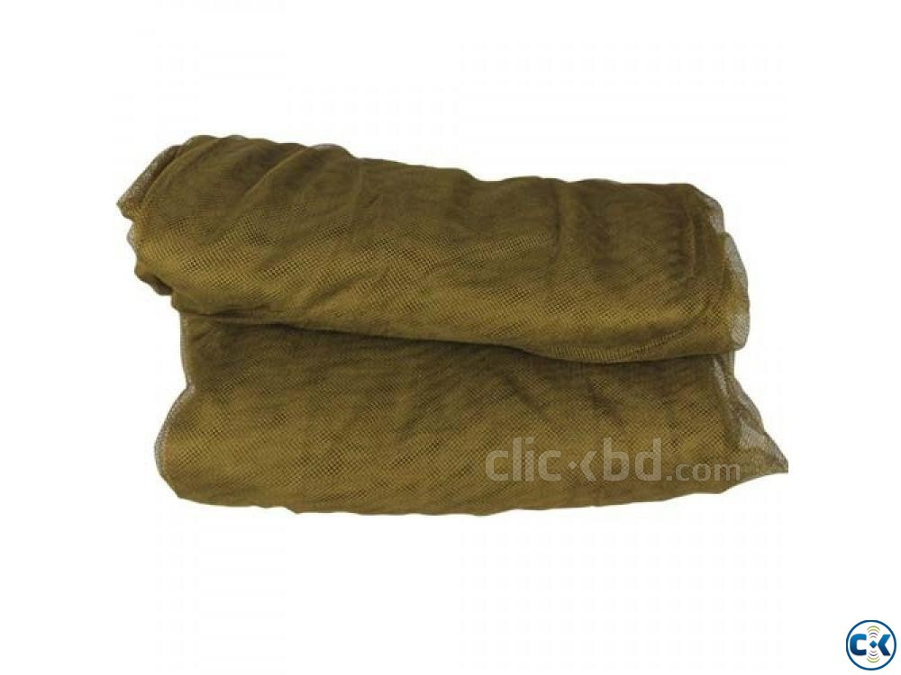 Single Person Army Mosquito Net-Khaki-  | ClickBD large image 1