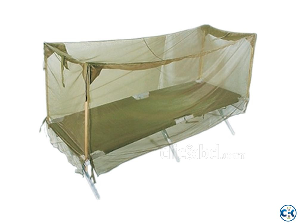 Single Person Army Mosquito Net-Khaki-  | ClickBD large image 2