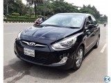 HYUNDAI ACCENT BLACK SUNROOF 2012