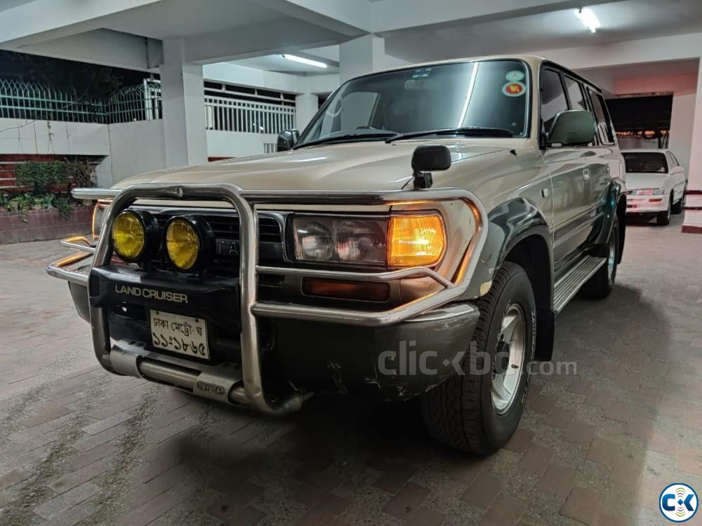 LANDCRUISER VX LTD SUNROOF 1995 | ClickBD large image 0