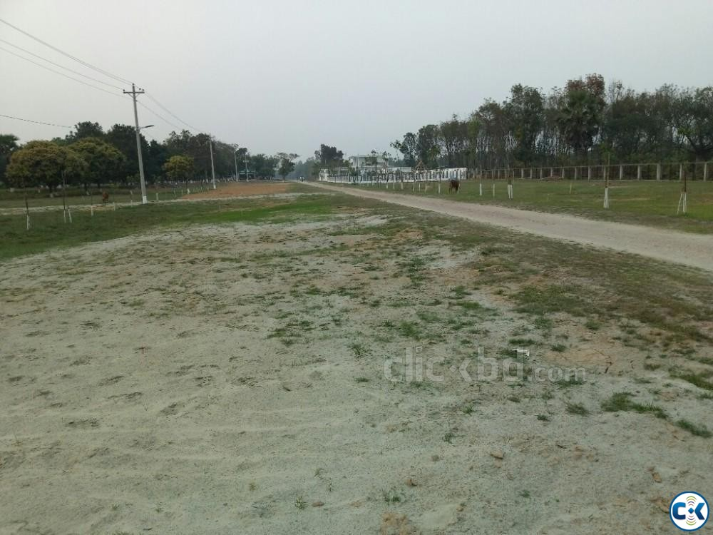 Navana Land Project Purbachal | ClickBD large image 1