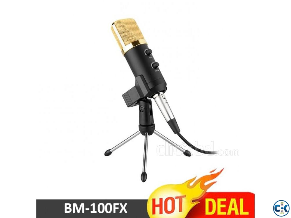 BM100FX Condenser Microphone For Studio Record Zymak BD | ClickBD large image 0