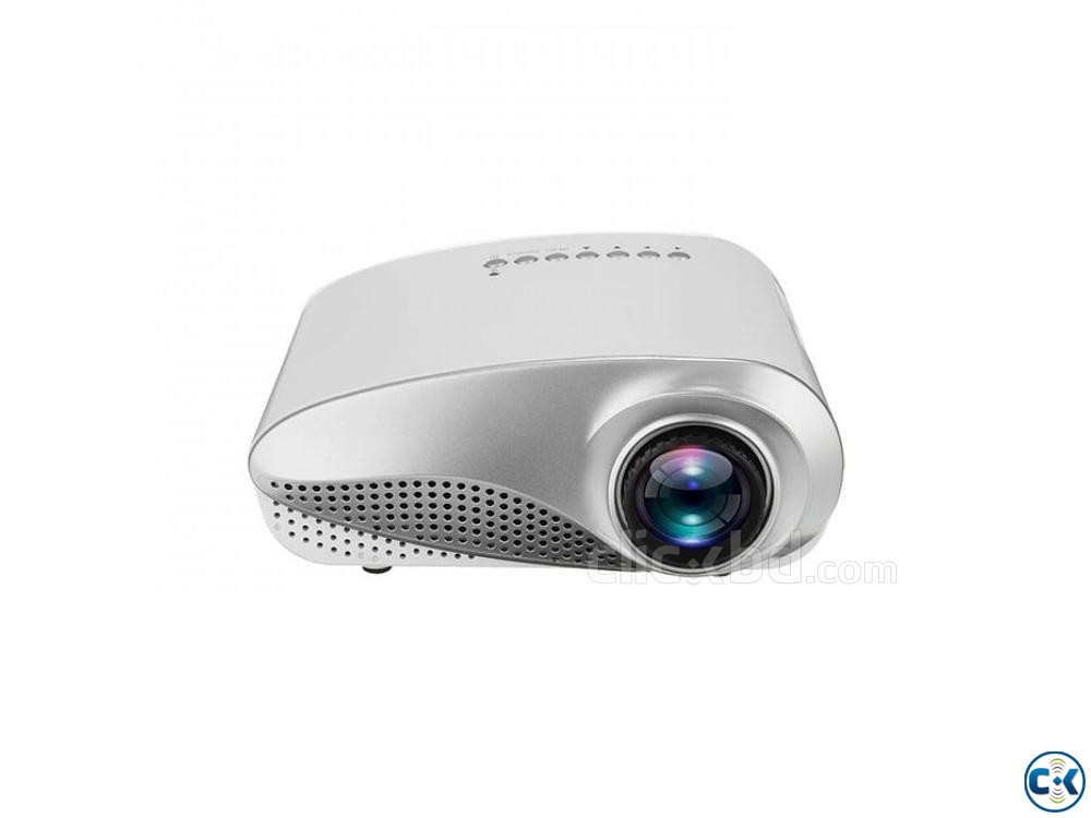 Philips RD802 Mini Projector 3D HD Projector LED Projector | ClickBD large image 0