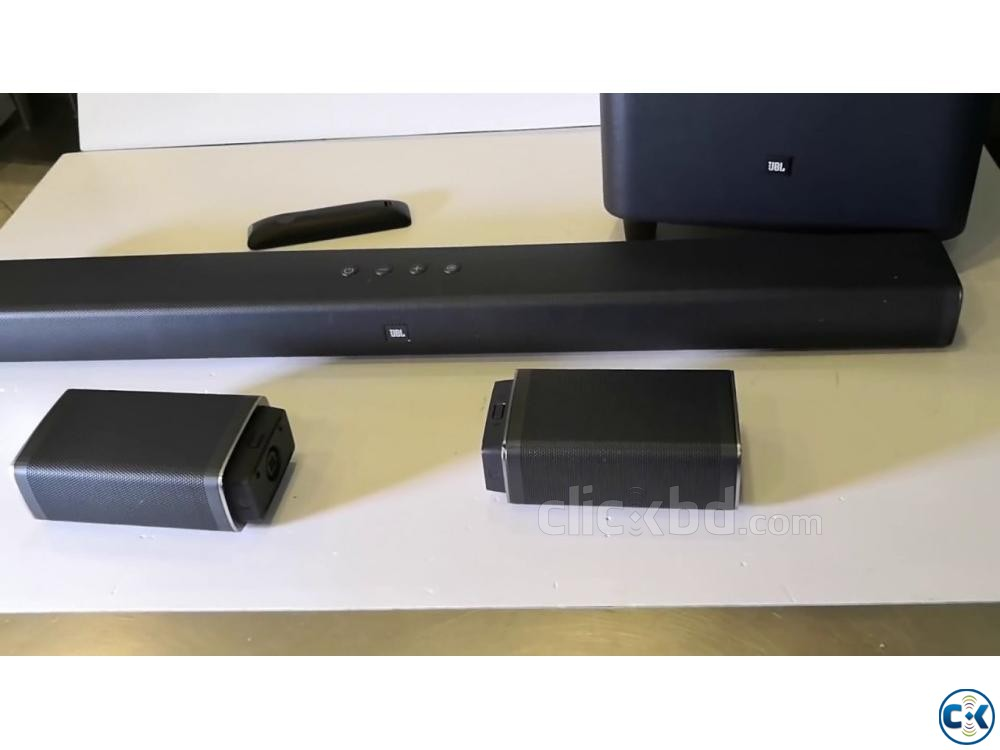 New JBL Bar 5.1 Soundbar with True Wireless Surround Speaker | ClickBD large image 2