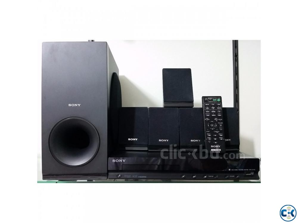 New Sony DAV-TZ140 5.1ch 300W DVD Home Theater System | ClickBD large image 0