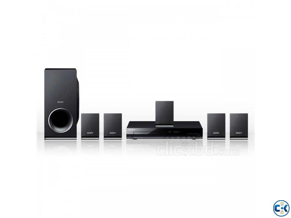 New Sony DAV-TZ140 5.1ch 300W DVD Home Theater System | ClickBD large image 2